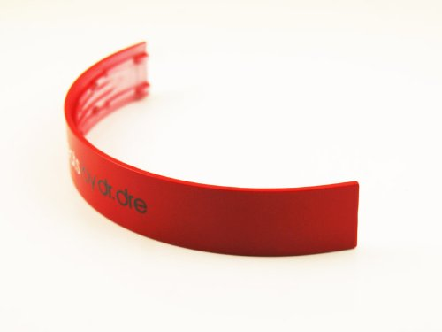 Replacement Headband top parts for Monster Beats by Dre Solo SoloHD repair Red
