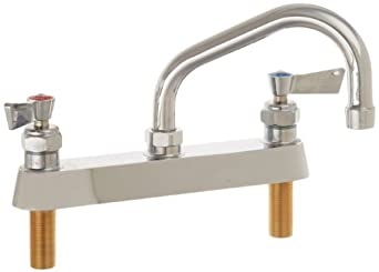 Fisher 3310 Deck Mount Faucet With 6 Swing Spout 8 Kitchen Sink Faucets