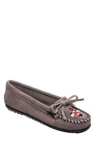 Minnetonka 601t Thunderbird Ii Casual Flat Shoe