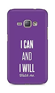 AMEZ i can and i will watch me Back Cover For Samsung Galaxy J1 (2016 EDITION)
