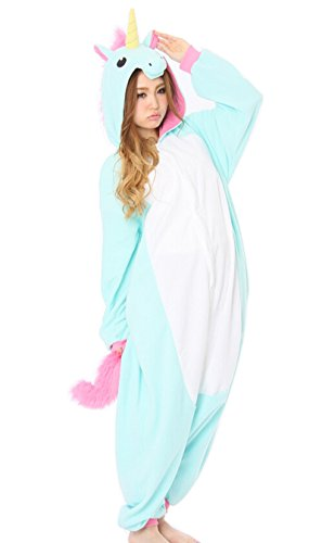 Adulto Unisexo Pigiama Animali Cartone Kigurumi Animale Cosplay Costume Unicorno