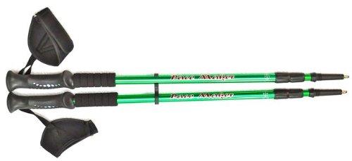 Pair of Pace Maker Trekking Hiking Walking Poles Sticks with Extras (Aqua))