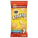 KP Mini Cheddars Crinklys Variety 7 X 35G