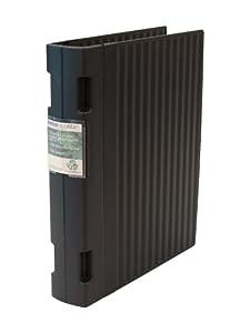 Wedo 05838001 Ordner Ergogrip ECO A4 4 Ringe 56mm schwarz 100 % recyclebar
