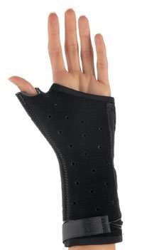2363084 Brace Wrist Long Thumb Spica Right Medium Exos Black sold indivdually sold as Individually Pt# 230-52-1111 by DJO Inc