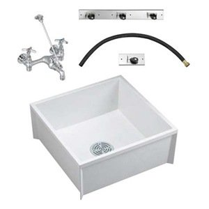 Mop Sink To Go, Floor, Faucet/Hardware - Bathroom Sinks - Amazon.com