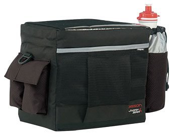 Axiom Radisson QR Handlebar Bag 488 cubic inches Black/Silver 132861