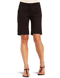 Dickies Women's 10 Inch Relaxed Stretch Twill Short, Black, 18
