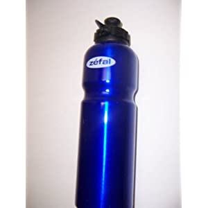 Zefal Blue Alloy Water Bottle Aluminum 800 ml