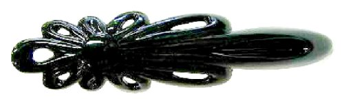 フラワークリップ No.614 ブラック