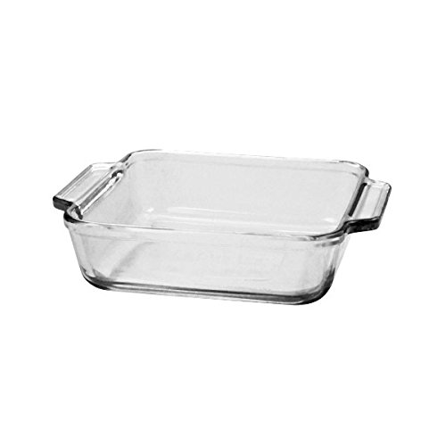 Anchor Hocking 81934Obl11 Oven Basics Square Cake Dish (Pack Of 3)