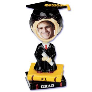 MALE GRADUATION BOBBLEHEAD/CAKE TOPPER