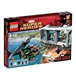 LEGO MARVEL SUPER HEROES IRON MAN MALIBU MANSION ATTACK 76007
