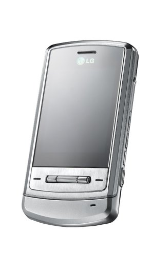 LG Shine Black-Label Series KE970 Shining Silver Phone (Unlocked)