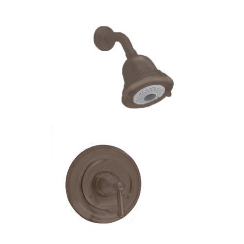 American Standard T420501.224 Portsmouth Shower Only Trim Kit with Round Escutcheon, Oil Rubbed Bronze (American Standard Trim Kit Bronze compare prices)
