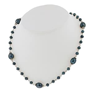 Click to buy Honora Pearl Necklaces: Blue Pearl Necklace from Amazon!