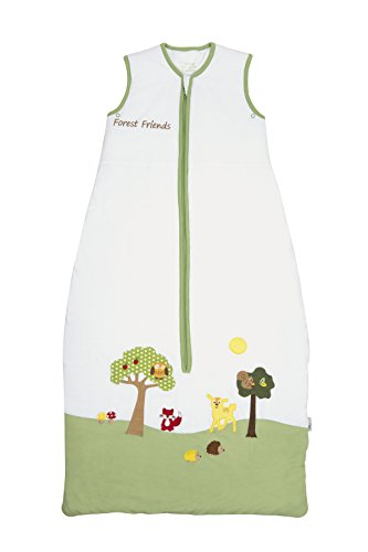Schlummersack Baby Sleeping Bag 2.5 Tog - Forest Friends - 12-36 months/43inch - 1