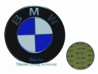 BMW Genuine Wheel Center Cap Emblem Decal Sticker 70mm (Bmw Oem Hood Emblem compare prices)