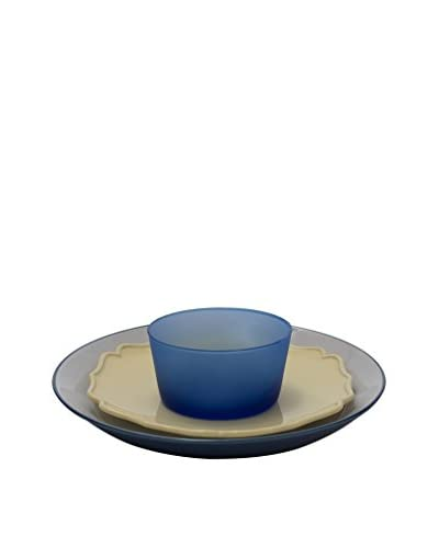 Bitossi Home Set Vajilla 18 Uds. Why Not Azul