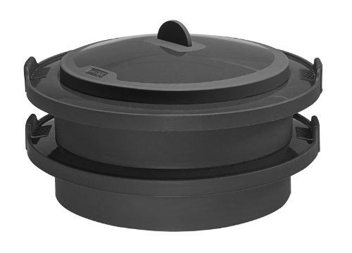 Lurch 70080 vaporiera in silicone compatibile con for Moulinex companion prezzo