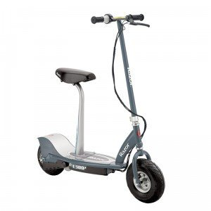 Razor Kids E300s Seated Scooter - Grey