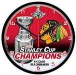 Chicago Blackhawks NHL Hockey 2013 Stanley Cup Champions Round Wall Clock