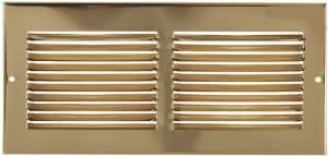 "30"" X 6"" Brass Cold Air Return Vent Cover / Grille"