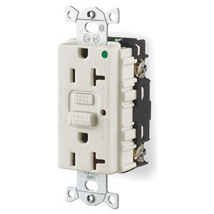Receptacle, Gfci, 20 Amp, 120 Vac, 5-20R, Led