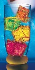 Litecubes® Flashing LED Multi-Color Freezable Ice Cube / Rocks - 1 cube
