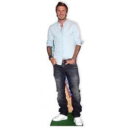Novedades directo David Beckham para recortar de cartón