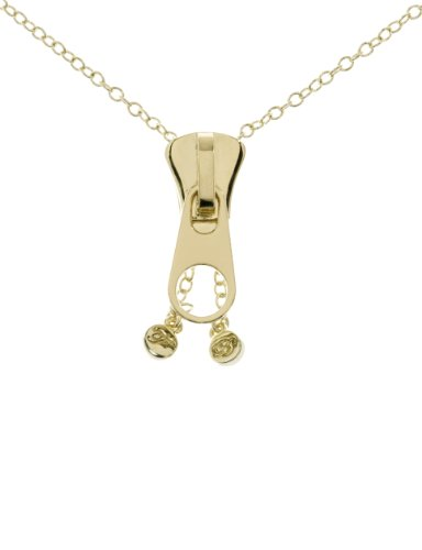 Ted Baker Zahara Zip Gold Necklace 60 cm