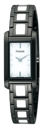 Pulsar Fashion Steel and Enamel Women's watch #PEGF71