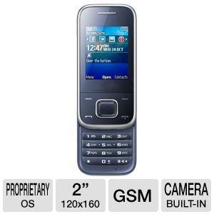 Samsung GT-E2350MBBCIT Cellulare E2350, Blu Metallico