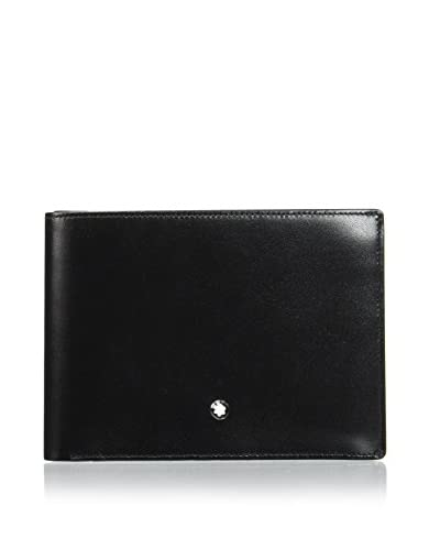 Montblanc Cartera Mst 4Cc Id Card Coin Case Negro