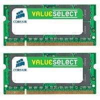 Corsair VS4GSDSKIT667D2 - Value Select SODIMM 4GB (2x2GB) PC2-5300 667MHz DDR2 SDRAM Memory Kit