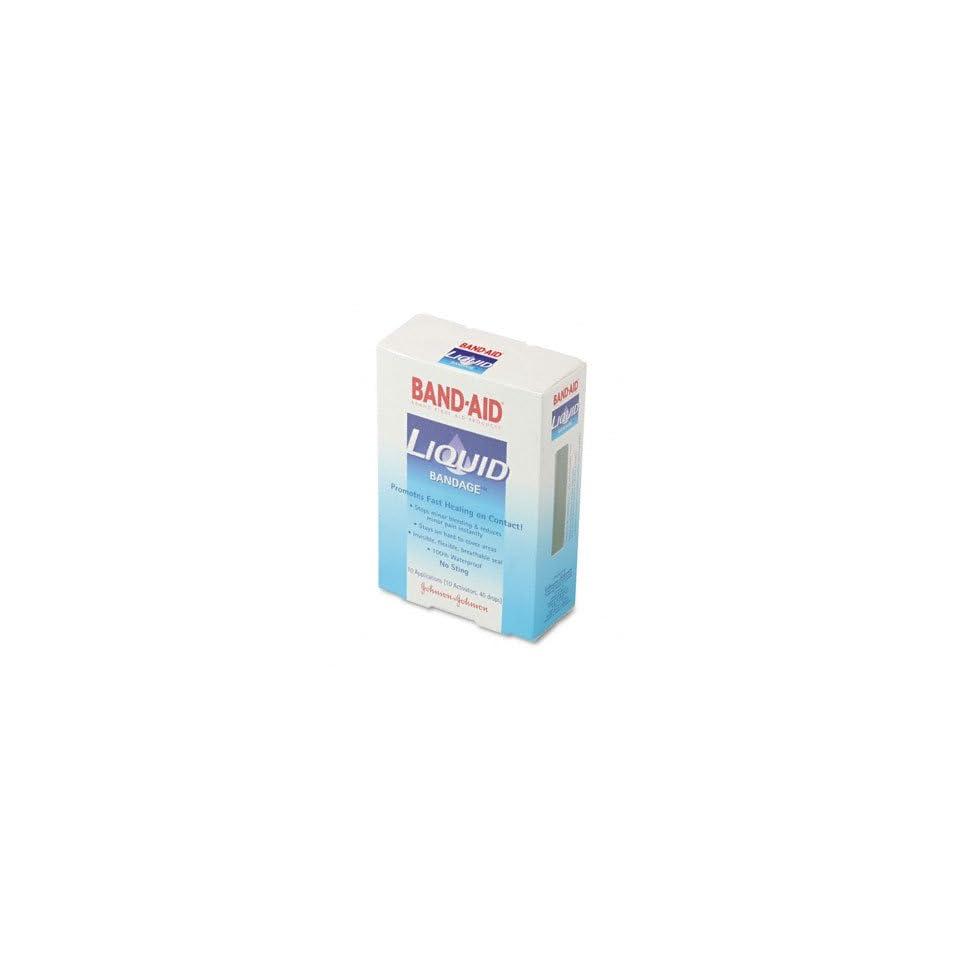 o BAND AID o   Liquid Adhesive Bandages, 10 Applications per Box