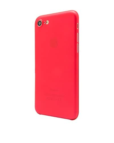 UNOTEC Funda Super – Slim iPhone 7 Rojo