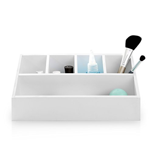 BINO 'Bolour' Wooden Multi-Purpose Sectional Organizer (Wooden Vanity Tray compare prices)