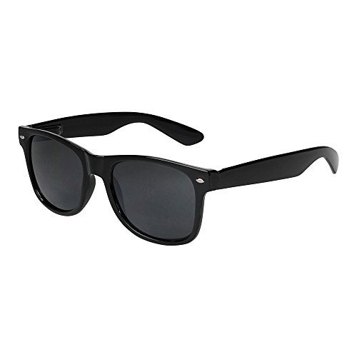 Alpland Pilotenbrille Cop - Modell - MAGNUM BLACK -XXL Gläser - inkl.Softbag LGX12x