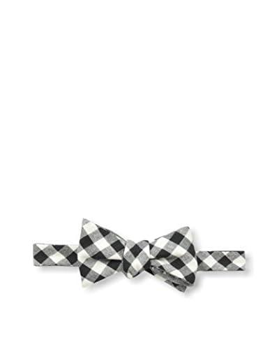 Cotton Treats Men's Newton Gingham/Pyramids Regular Bow Tie (Reversible)
