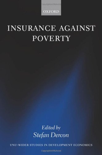 Insurance against Poverty (W I D E R Studies in Development Economics)