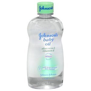 Johnson'S Baby Oil W/Aloe + E 14 Oz front-597222