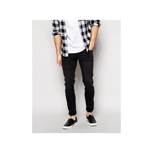 Dr Denim Snap Skinny Jeans in Black Used 並行輸入品