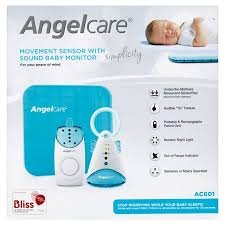 Angelcare AC601 Simplicity Movement & Sound Monitor (green)