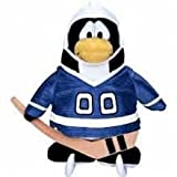 "Save $7.00 Value Deal On Rare Club Penguin Blue Hockey Player 6.5"" Plush Value Deal = Just The Rare Plush Without..."