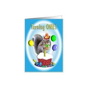 Amazon.com: Birthday Boy One Year Old Card: Toys & Game