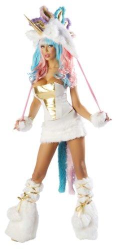 Josie Loves Valentine Unicorn Corset and Skirt Set (Large)