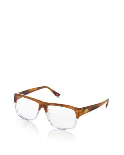 GÖTZ Switzerland Men's Two-Tone Eyeglasses, Brown As You See