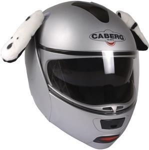 Crazy Ski Helmet Ears | Spotty Dog Helmet Ears & Tail - Dalmatian Ears