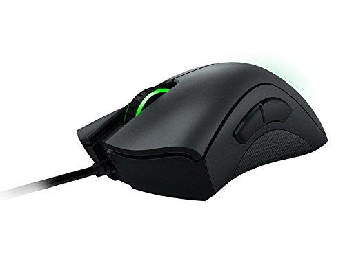 Razer DeathAdder Chroma - Gaming Mouse Ergonomico con Illuminazione LED RGB Multi-Colore RGB Sensore da 10,000 dpi